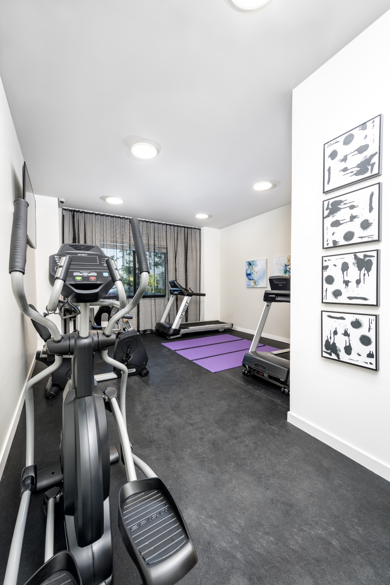 1 Bedroom Affordable Senior Apartments in West Palm Beach, FL - Fitness Center