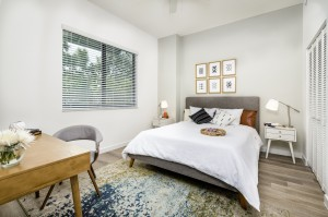 1 Bedroom Affordable Senior Apartments in West Palm Beach, FL - Bedroom