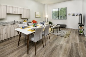 1 Bedroom Affordable Senior Apartments in West Palm Beach, FL - Dining Room