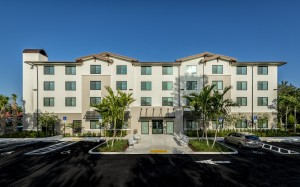 One Bedroom Affordable Senior Apartments in West Palm Beach, FL - Exterior