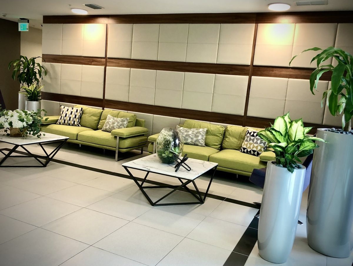 West Palm Beach Senior Apartments lobby